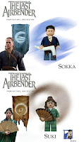 Tin7's Custom Avatar The Last Airbender Minifigures