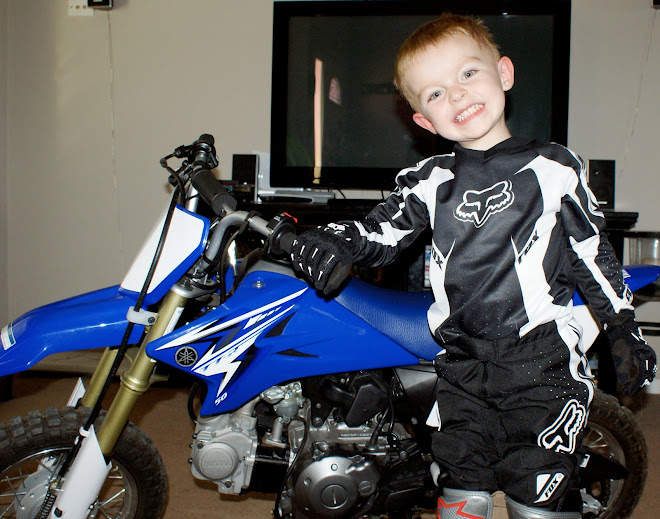 Cannon and his Motorcycle