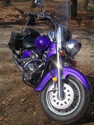 My bike - Sassy!