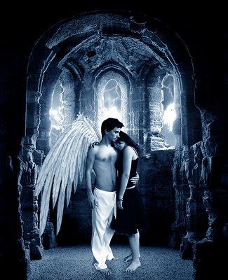 angel,anjo protetor,mulher abraçada com anjo