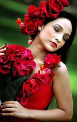 missão,vida,mulher,rosas vermelhas,linda