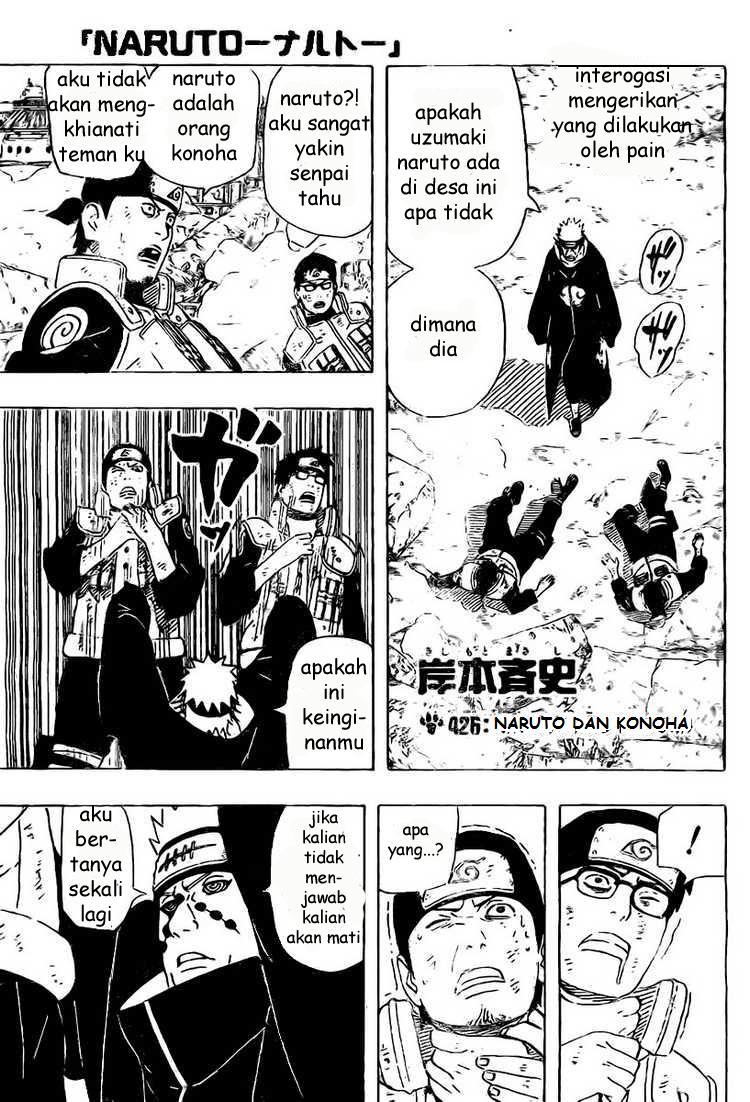 Komik manga Kakasensei Naruto 426 01 shounen manga naruto