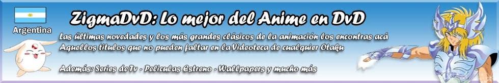 ZigmaDVD lo mejor del Animé en DVD