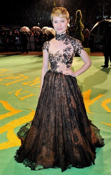 Mia Wasikowska Alicia estreno