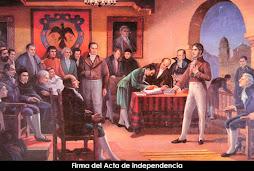 Firma del Acta de Independecia de Colombia