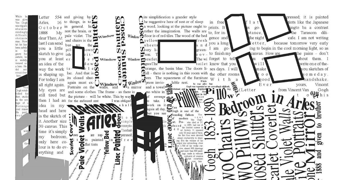One Line Text Art 9 11 : Art fall van gogh line text