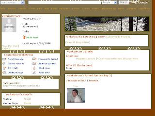 myspace layouts
