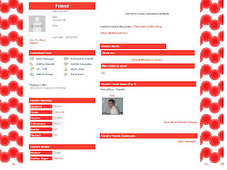 Default Myspace Layouts
