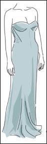 vestido+prata SAIBA COMO COMBINAR ROUPA COM SAPATO