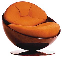 poltrona+esfera PURO LUXO