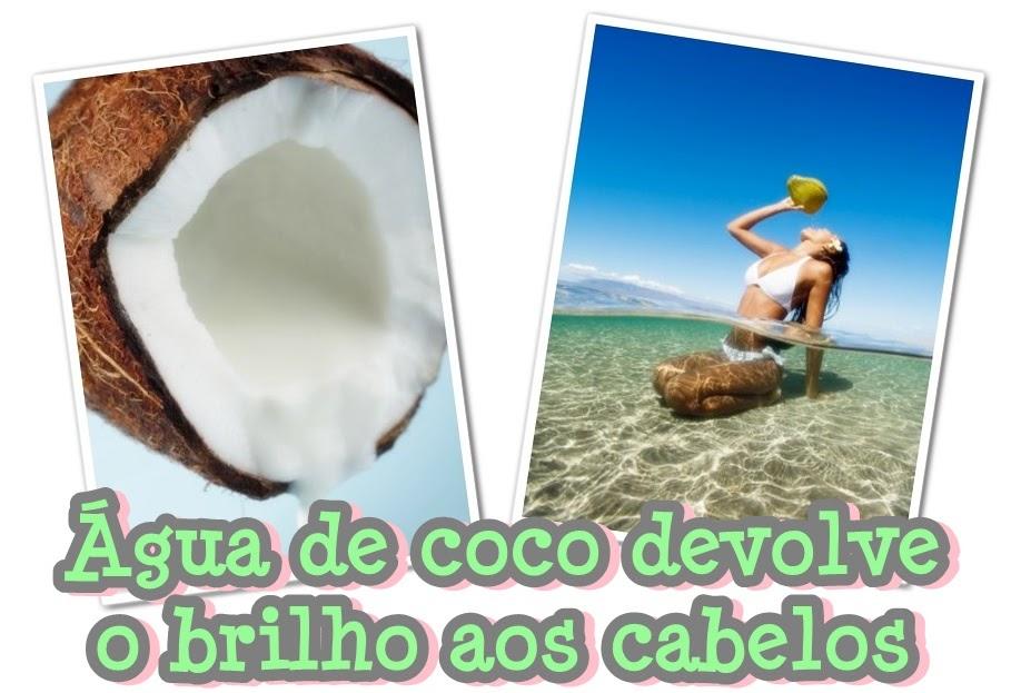 Di rio da dani gua de coco devolve o brilho aos cabelos for Recuperar agua piscina verde