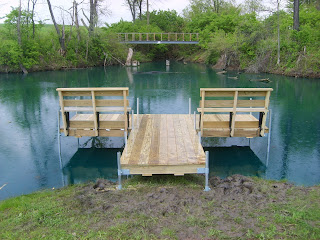 Herman Brothers Blog The Perfect Small Pond Dock