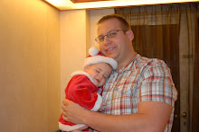 Daddy and Little Bear on Christmas