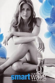 Even in ads for SmartWater, Ms. Aniston insisted she pose nude.