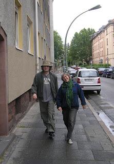 Gwyo & Tracy in Frankfurt