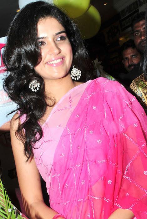 deeksha seth in saree actress pics