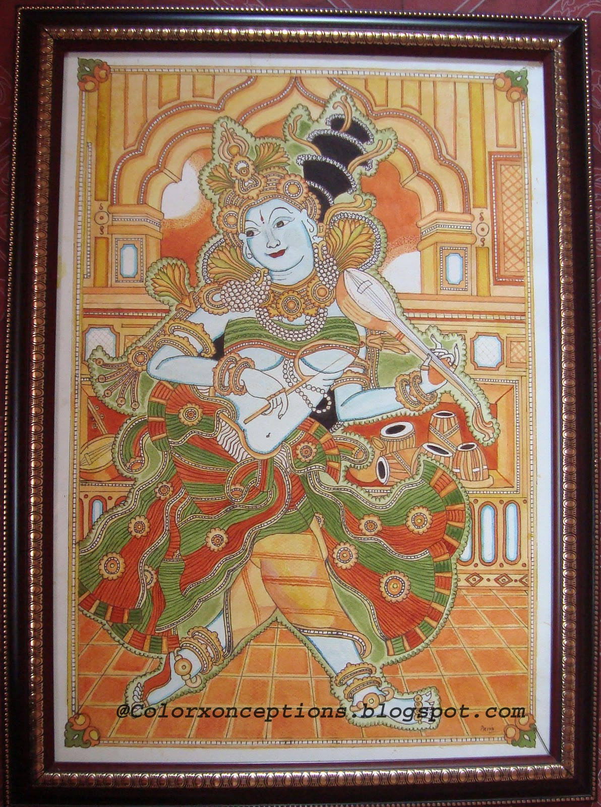 Kerala mural painting designs joy studio design gallery for Mural painting designs