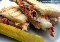 Deli-Style Corned Beef Sandwich