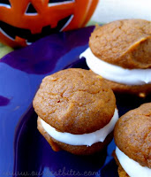 {Pumpkin & Cream Cheese} Whoopie Pies