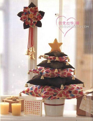 El costurero de palichi arbol de navidad en tela - Arbol navidad tela ...