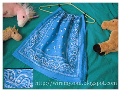 Wire My Soul: Another Bandana Shirt