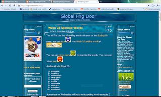 Web page global fridge door