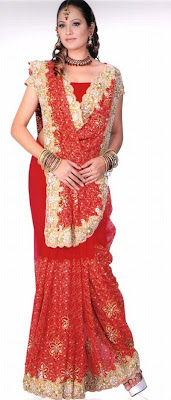 designer bridal dresses and saree
