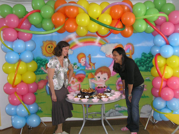 Baby Shower Balloon Decoration Ideas