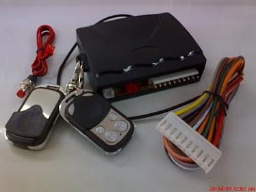 CAR alarm sistem