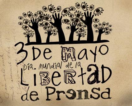 3 de Mayo Dia internacional de la libertad de prensa.