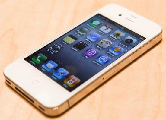 iphone 4 white. black iphone 4 white bumper.