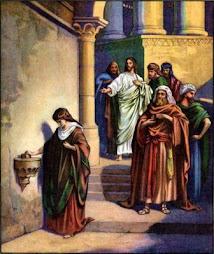 evangelio lunes: Lc 21, 1-4