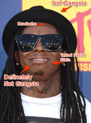that Lil Wayne wore a lip
