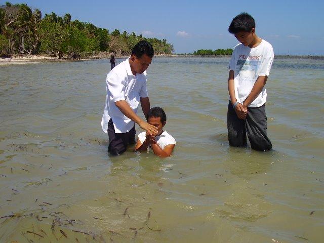 PREVIOUS BAPTISM..!