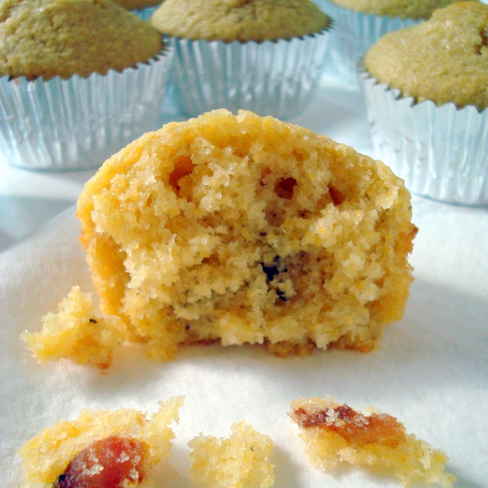 Maple-Bacon Corn Muffins - A Spicy Perspective
