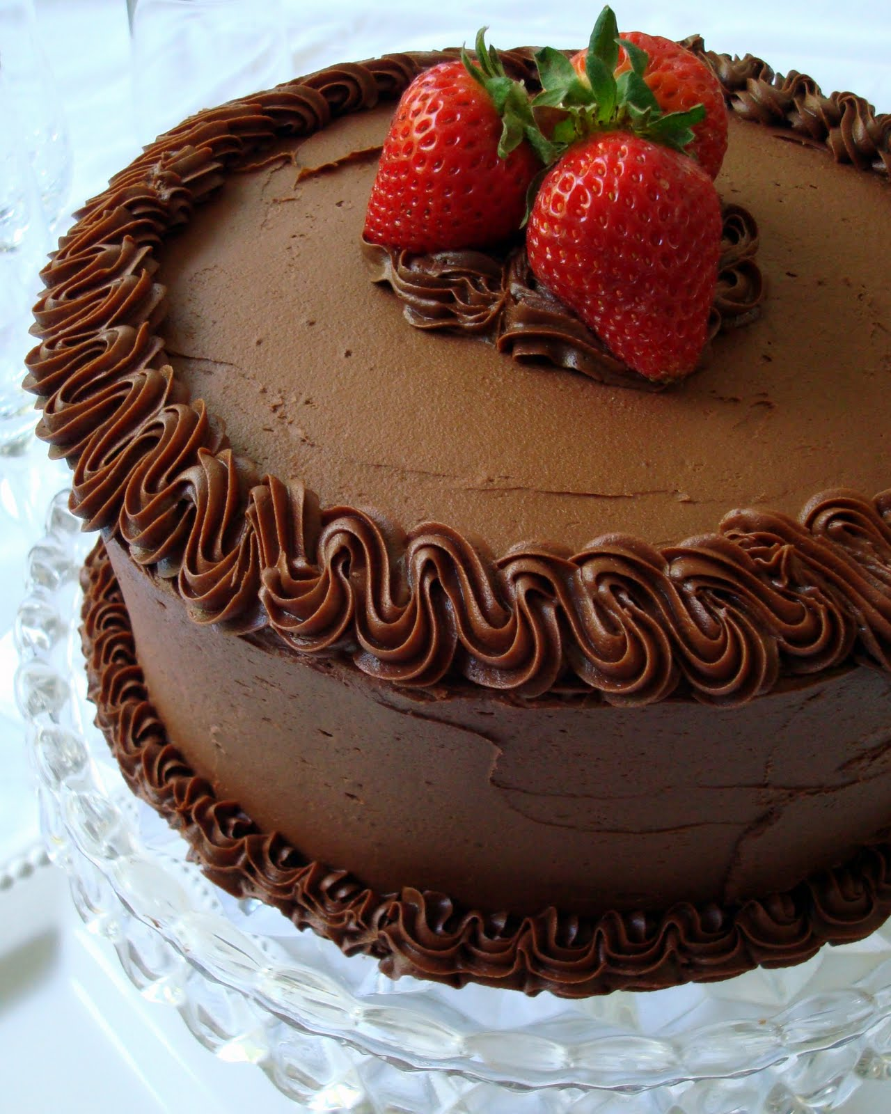 Quintessential Chocolate Cake - A Spicy Perspective