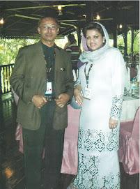 Bersama YB Senator Dato' Seri Shahrizat ..Menteri Pembangunan Keluarga, Wanita Dan Masyarakat