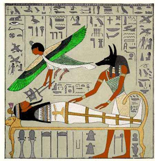 ancient egyptians belief of the afterlife Later, the ancient egyptians began burying their dead in coffins to protect them from wild animals in the desert.