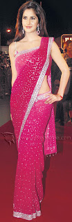 katrina kaif2 Katrina Kaif  In Saree Pictures