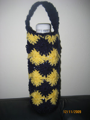 CROCHET PATTERN PDF for Water Bottle Carrier Holder by timaryart