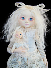 Ghostie girl and ghostie doll