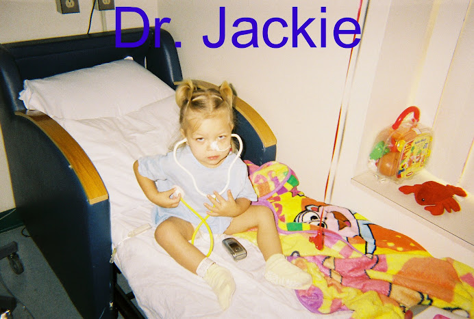 Dr. Jackie knows what's wrong.