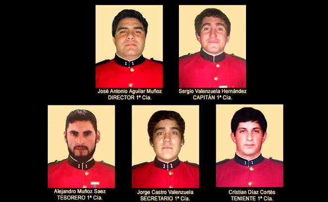 OFICIALIDAD 2009, PRIMERA COMPAÑÍA