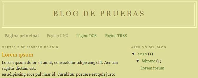 paginas blogger