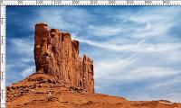 monumento en el desierto