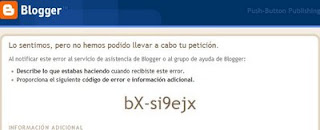 Error Blogger