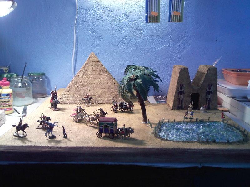 artelvira diorama escala 1 72 de egipto