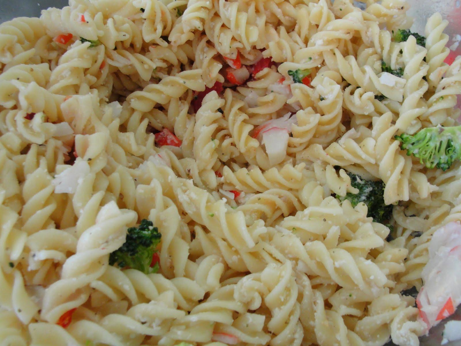 Crab Meat Pasta Recipes Crab pasta salad