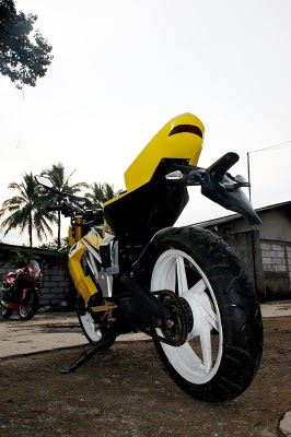 high tech motorcycle modifikasi jupiter mx 2011