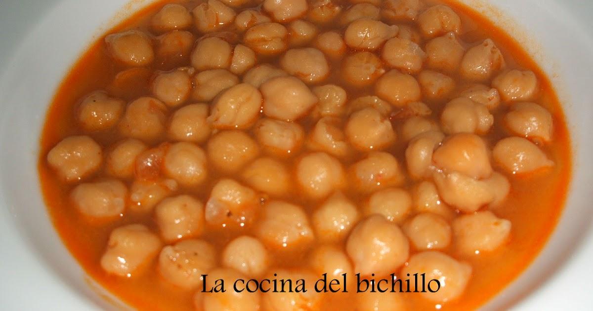 La cocina del bichillo cocido con la receta de mi madre - Garbanzos olla express ...